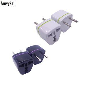 Amvykal CE ROHS Common Universal European AC Power 250V 10A AU UK US to RU KR EU Plug Adapter Socket Conversion Plug Adaptor