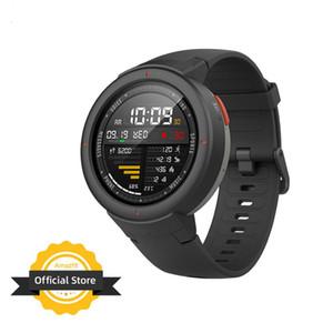 Глобальная версия Huami Amazfit Verge Sport Smartwatch GPS GLONASS Music on board Call Answer Smart Message Push монитор сердечного ритма