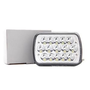 CRESTECH 7 pollice quadrato luce del lavoro 45W LED Bar faro LampHigh / anabbaglianti di designazione Accessori per carrello Offroad Auto
