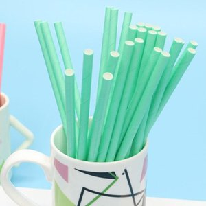 25Pcs Disposable Paper Water Drinking Straws Drinkware Bar Birthday Party Decor Made of high quality paper material durable safe