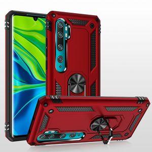 Armor case Rotating Metal Ring Holder Kickstand Shockproof Cover for Xiaomi Mi note 10 Pro Lite CC9 Pro Mi 9 SE CC9 A3 Lite CC9E Mi 10 Pro