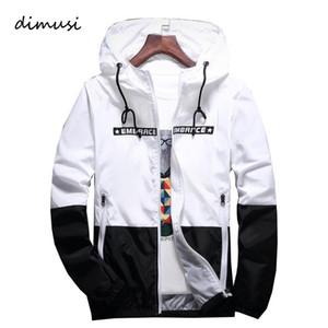 Весна осени куртка мужской Hip Hop куртка ветровка с капюшоном Повседневной Zipper Мужской ретро Урожай Streetwear куртка Одежда S-4XL
