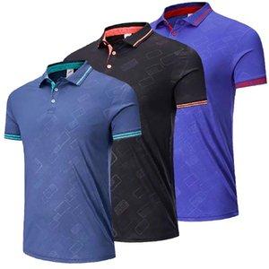 Men women lapel short sleeve golf table tennis shirts Quick Dry Running Shirts gym sport clothing badminton shirt Tennis t-shirt