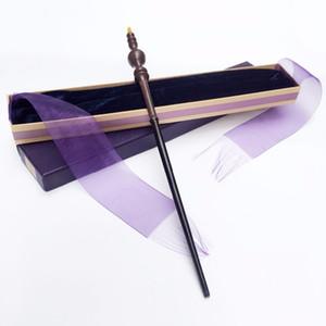 Chegam novas de Metal Minerva Mcgonagall Wand Harry Potter Magia Mágica de Ferro Varinha Mágica Fita Elegante Caixa de Presente Embalagem J190427