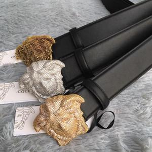 Cinturones de diseño de marca de alta calidad para hombres Cinturones de vaqueros Cinturones Cummerbund Para hombres Mujeres Hebilla de metal con caja