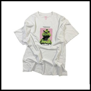 New Fashion GOLF WANG Grinch Tee Tyler Album Cover Short Sleeve T-shirt Men and Women Lovers ST XSQ