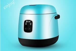 1.2L Mini elektrischer Reiskocher 220 V Haushaltsstudentenwohnheim Kochen tragbaren Kochtopf für Business-Reisenden Arbeitsalleinstehenden 020