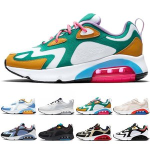 200 Women Men Running Shoes Mystic Green Bordeaux Desert Sand Black Royal Pulse Mens Trainers Athletic Outdoor Sports Sneakers Size 40-46