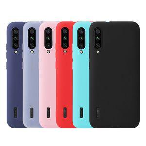 Конфеты цвет тонкий матовый матовый мягкий TPU резиновый противоударный чехол Чехол для Xiaomi Mi Note 10 Pro 9 SE 9T 8 Explorer Lite Mix Max 3 A2 Play CC9