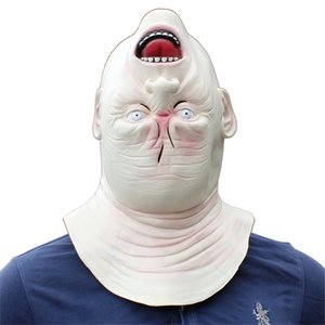 Máscaras Ogre Kitty Fancy Realista Cosplay Adulto Halloween Party Mask Movie Masquerade Máscara Prop Monster Vestido Partido Animal Latex RMTMI