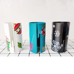 Weihnachtspapier Cutter Weihnachtsmann Papierschneider Sliding Papierrollenschneider Trimmer-Tool für Weihnachten Paper Cut 3COLOR GGA2882