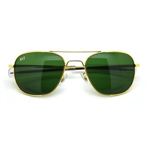 Wholesale-new fashion style and American pop classic metal sunglasses with glass lens MF01,MF02