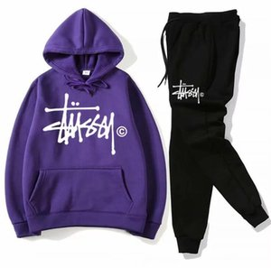 Leisure set sweatsuit Designer Tracksuit Women hoodies +pants Mens Clothing Sweatshirt Pullover men Casual Tennis Sport Tracksuit Sweat Suit