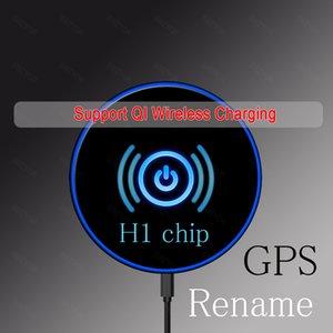Nouvelle arrivée Air2 AP2 Wireless Bluetooth Headset fonction de changement de nom de l'écouteur fonctionne tactile, commandes vocales, pk i200 i30 i12 i10 i9s TWS Core i7
