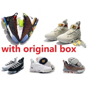 Mens what the lebron 16 XVI basketball shoes for sale 16s MVP Christmas BHM Oreo youth kids Generation sneakers boots with original box