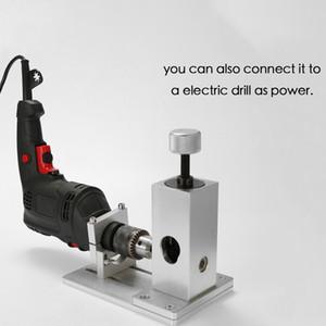 Elektrikli Matkap Tutucu ile Hurda Tel soyma cihazı Kablo Bakır Tel Stripper Metal Geri Dönüşüm sıyırma aleti