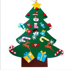 Fieltro Decoraciones de Navidad Árbol Nuevo Patrón DIY Manual Creativo Avión de Enseñanza No Tejidos Artículos de Ornamento Venta Directa de Fábrica 23 5xf p1