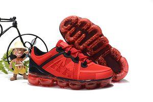 nike air max airmax vapormax bebê criança Tricô Portátil Crianças Sapatos de Corrida Crianças 2019 almofada KPU Calçados Esportivos Meninos Meninas Treinamento Sneakers