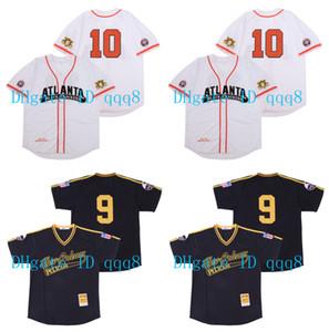 재고 정리 세일 애틀랜타 블랙 크래커 흑인 리그 버튼 다운 세일 뉴 올리언스 9 PELICAN 공동 에디션 야구 유니폼