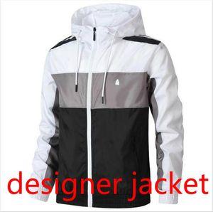 Vestes Designer automne Hommes avec 3 Stripes luxe hommes coupe-vent Manteau avec lettres d'hiver marque de mode Veste Outdoorwear Vêtements