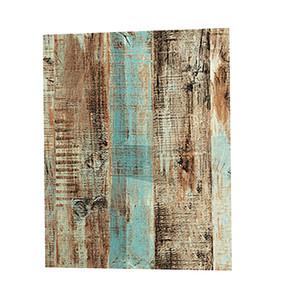 Impermeable del papel pintado retro con textura de madera para Home Improvement