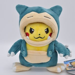 New Arrival Cosplay Snorlax Plush Doll Stuffed Animals Toy For Child Best Gifts 8inch 20cm