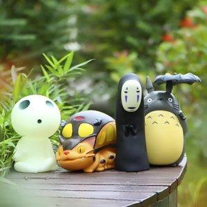 Totoro Action Figure Banca Piggy della moneta giapponese Anime Hayao Miyazaki Spirited Away uomo senza volto di compleanno Giocattoli regalo per i bambini