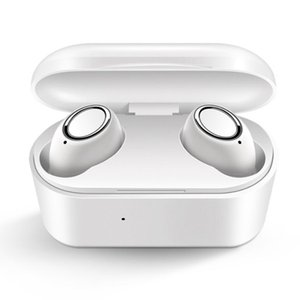 Wireless Earphones Bluetooth Headphone with mic mini stereo tws Headset in-Ear Earbuds support Siri Touch Control with charging case