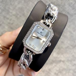 Ultradünne Rose für Mädchen Gold Frau Diamantuhren 2019 Luxus Krankenschwester Damen Kleider weibliche Art und Weise Armbanduhr beliebt hochwertige Geschenke