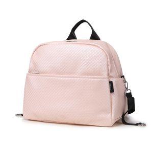 Soboba حفاظه على ظهره حقيبة للأم منقوشة سعة كبيرة للماء الوردي الأمومة حقيبة الظهر لرعاية الطفل متعدد الوظائف