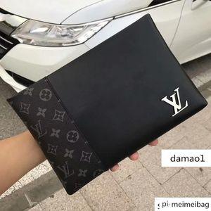 M9187 Leather Men S Black Plaid Wallet Wallets Purse Mini Clutches Exotics Evening Chain Belt Bags
