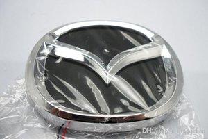 4D logo LED light with car decorative lights lamp Car Sticker badge for MAZDA 2 3 CX7 mazda8 12.0cm*9.55cm free shipping