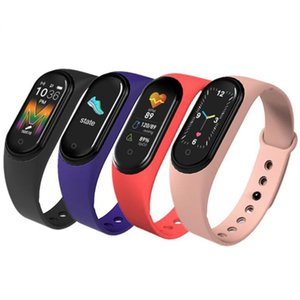 M5 Sport Fitness tracker call Watch Smartband Smart Bracelet Colorful Screen Blood Pressure Heart Rate Smart band Wristband with retail box