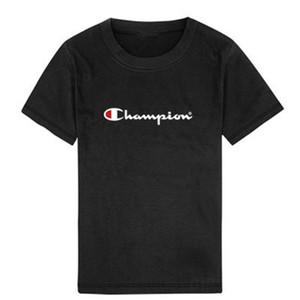 2020 New designer children T-shirt cotton big boy girl short-sleeved shirt summer clothing children's summer T-shirt clothes 90-150 cm A11