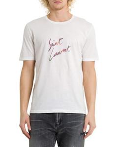Yeni moda erkek kadın T-shirt Gökkuşağı kamuflaj baskı SL yuvarlak boyun kısa kollu Tişört En Klasik Unisex Tee Gömlek