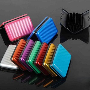 Pop2019 Striscia di alluminio Fund Ultrathin Doka Position Bank Solid Color Tide Card Package