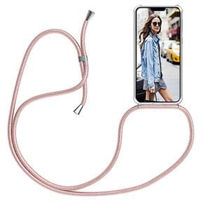 Band Cord Kette Telefon-Kasten für iPhone 7 8 11 pro XS Max XR X Halskette Lanyard hängt String für iPhone 11 7 8 Plus 6S X SE Coque