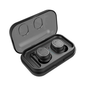 TWS-8 Bluetooth 5.0 Earphone Headset True Wireless Earbuds HIFI Bass Noise Cancelling 3D Stereo Ear Pods with Charging Box