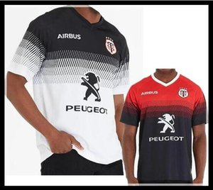2020 Toulouse Startseite Rugby Jersey 2019 STADE TOULOUSAIN Toulouse Rugby Jerseys Liga Trikot Tluth Shirt Freizeitsport
