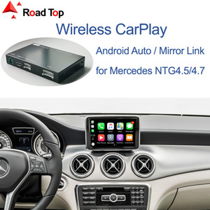 اللاسلكي Carplay for Mercedes Benz A-Class W176 B فئة W246 CLA GLA 2013-2015، مع مرآة رابط AirPlay Car Play Wams
