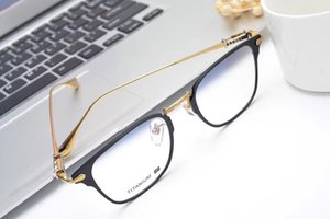 Хром очки кадров четкие мужские Lense женские очки близорукость очки Ретро óculos де Грау мужчин и женщин очки кадров 113