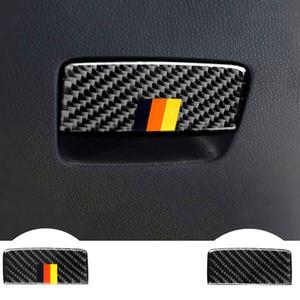 보조 드라이버 스토리지 박스 트림 탄소 섬유 스티커 메르세데스에 대한 클래스 CLA A45AMG 2013-2018 GLA 2015-2018 자동차 액세서리