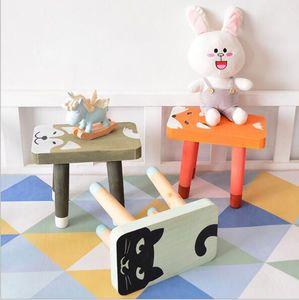Baby Bench INS Nordic Creative Solid Wood Children's Benchs Home Low Bench Kindergarten Baby Bench Customization