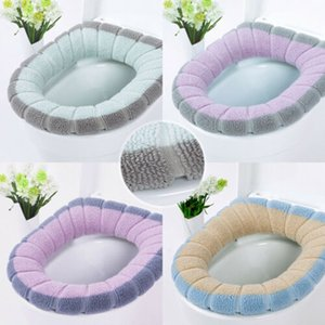 #20 Bathroom Toilet Seat Closestool Washable Soft Warmer Mat Cover Pad Cushion Winter Comfortable Soft Heated