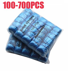 700-100PCS T الإبزيم PE الحذاء غطاء آلة الحذاء غطاء المتاح مريح في البيت النموذجي جودة عالية