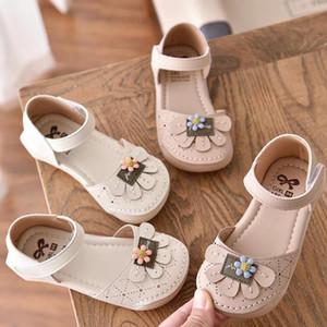 Bambini Ragazza Scarpe coreano Stylish Sneakers estate delle ragazze dei pattini delle scarpe da tennis sandali antisdrucciolevoli Floral Design moda estate