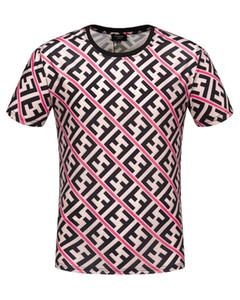 20 nuevos Ropa de diseño FF Lujo Europa Italia Roma Colaborar Edición Especial camiseta de los hombres camiseta de las mujeres ocasionales del algodón tee mejores mujeres de los hombres # s11