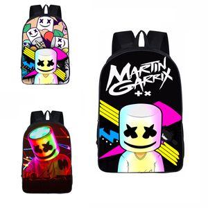 27 stil Marshmellow Sırt Çantası DJ Hatmi Cosplay Moda Okul Çantası Çocuklar Için BoyGirl Açık Seyahat çantası Hatmi Sevimli Sırt Çantaları