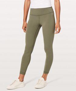 Los pantalones de yoga de moda Alinear Pant II Wuder-Bajo Hi-Rise Casual Gym Pant | U | U | emon Yoga Inicio Pantalones