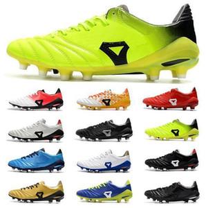 Nakliye Ücretsiz 2019 Yeni Erkek Deri Futbol Cleats Düşük Ayak Bileği Morelia Neo II FG Futbol Ayakkabıları Dünya Kupası Mens Açık Futbol ayakkabı